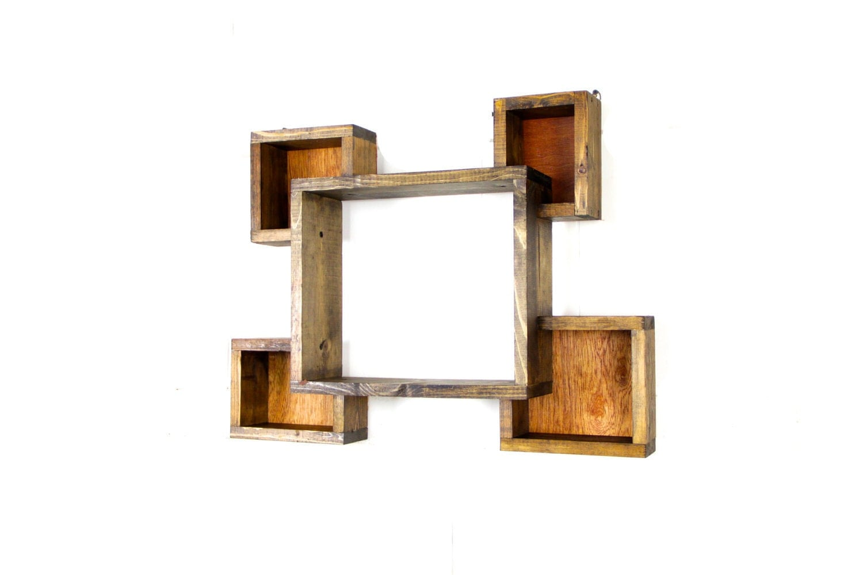 wall shelf shadow box rustic wall shelf distressed shelf. Black Bedroom Furniture Sets. Home Design Ideas