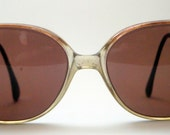 Titanium 80's Neutral Gold Womens Sunglasses