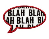 "Speech Bubble Appliques Machine Embroidery Designs Applique Patterns in 5 sizes 3"", 4"", 5"", 6"" and 7"""