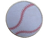 "Baseball Machine Embroidery Applique Design Pattern in 3 sizes 3"", 4"" and 5"""