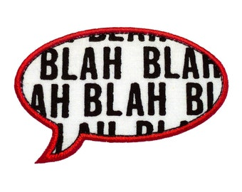 """Speech Bubble Appliques Machine Embroidery Designs Applique Patterns in 5 sizes 3"""", 4"""", 5"""", 6"""" and 7"""""""
