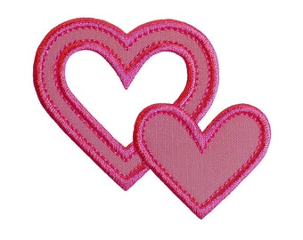 "Piece Of My Heart Applique Machine Embroidery Designs Applique Pattern in 5 sizes 3"", 4"", 5"", 6"" and 7"""