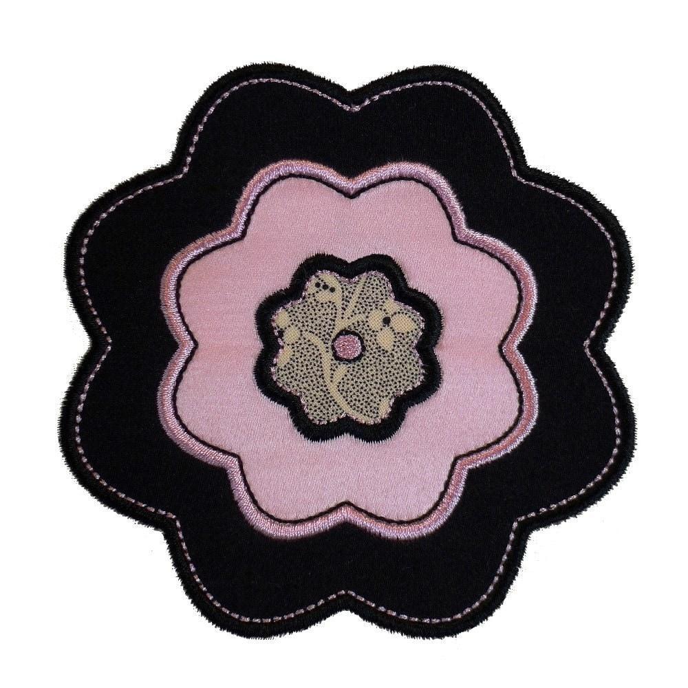 Camellia Flower Appliques Machine Embroidery Designs Applique