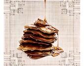 Oooey Gooey Pancakes PRINT