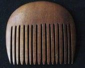 Vintage Wood Geisha Comb