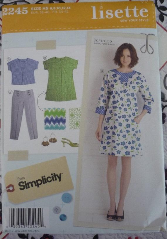 Simplicity 2245 Lisette Portfolio Pattern New