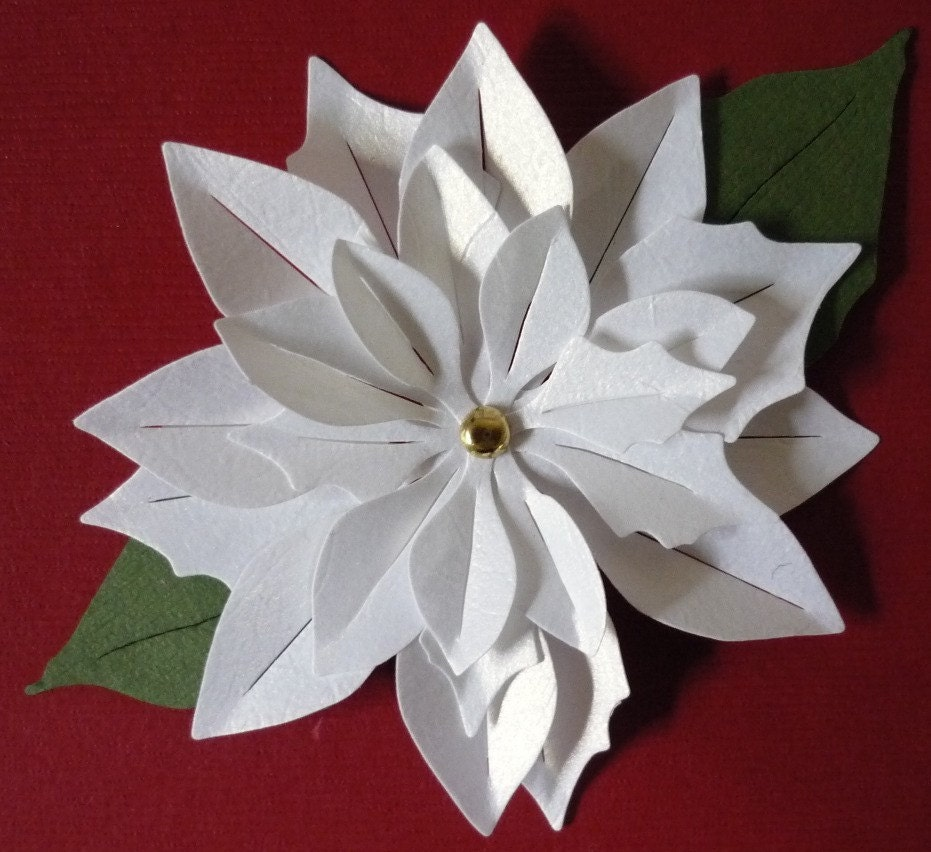 How To Make A Poinsettia Flower Out Of Paper Download Paper