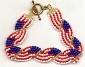 Waving Flag Bracelet