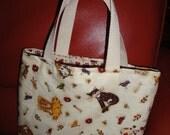 Loving Kitties tote bag- small