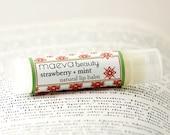 Strawberry Mint Natural Lip Balm