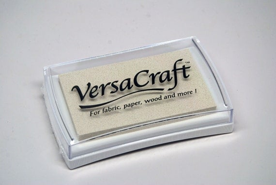 VersaCraft Craft Ink Stamp Pad -- White -- Rich Color Quality Ink