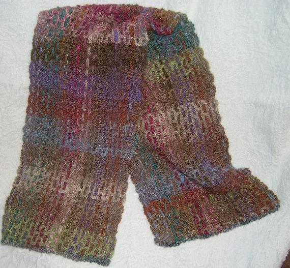 Crochet Patterns Using Sock Yarn : Crocheted Scarf Pattern in Noro Sock Yarn