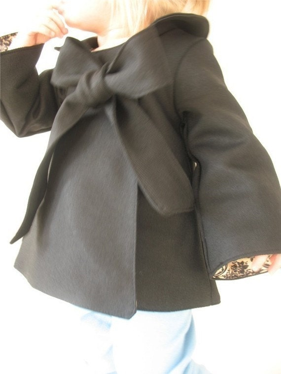 new LIMITED Chic Cocktail Swing Coat  charcoal black 12/18m  ready to ship coat jacket