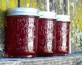 NEW Peach Melba Jam- 8oz Jar