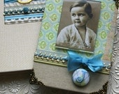Custom Baby Photo Frame, Personalized Initial, Baby Boy Frame, Picture Frame for your photo