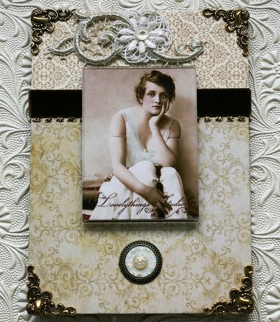 Декоративная рамка для фотографий, ручная работа, нейтральные цвета, Vintage фоторамки стиля для ваших фото