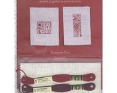 French Cross Stitch Book ABC Miniatures