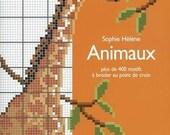 Animals French Cross Stitch Book