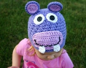Hip Hippo-ray Beanie : Child, Teen or Adult