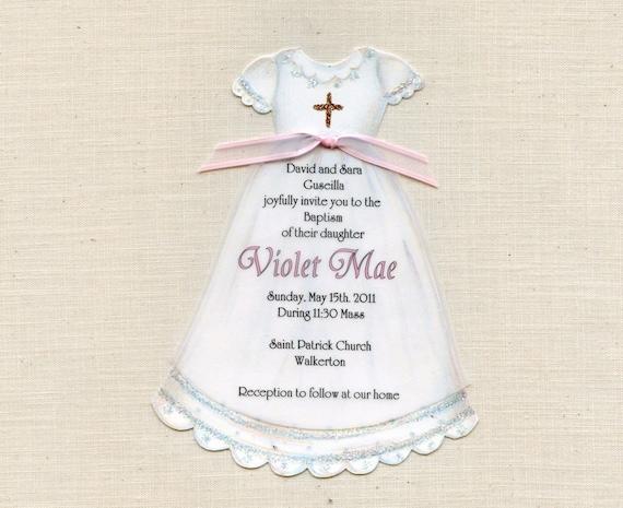 25 Dress Baptism Communion Christening Girl Gown