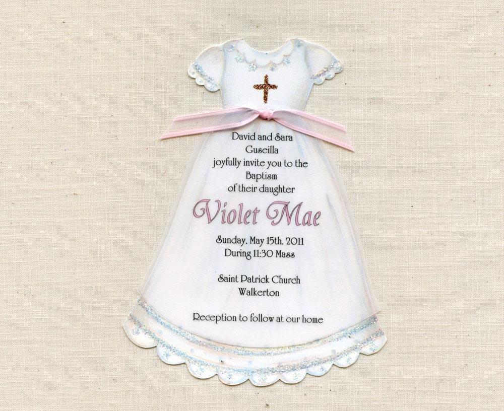 Cute Baptism Invitations is best invitations ideas
