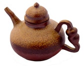 Curling Stone Tea Pot