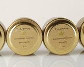 Aromatherapy Soy Candle- 2 oz travel gold tin - Sensuality