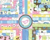 Birdie Charm Square pack by Moda