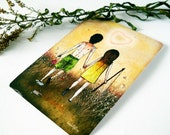 I'm Holding You Postcard