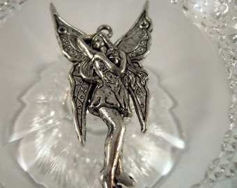 Sea Sprite Fairy Pendant