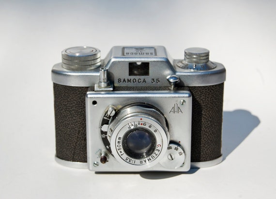 Samoca 35 - 35mm Camera for display or parts only