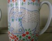 Mann Safari Mugs HIPPO--RESERVED for SHEILA