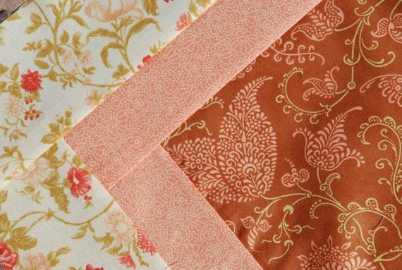SALE. Moda. BEAUTIFUL Stroller/ Pram Quilt. Gypsy Rose. QUILTED. Fleece back. 30x33.