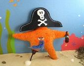 50% Off Sale Captain Weirdbeard Plush Pirate Starfish by Boom Plush