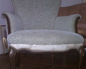 Louis XV Sytle French Country Bergere-One of a Kind