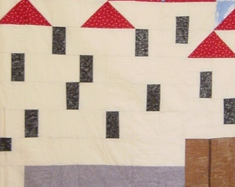 CASTLE On The Rhine - Quilt/Wall Hanging - Pattern Only