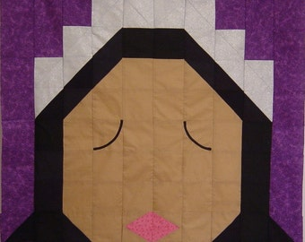 PRINCESS- Quilt/Wall Hanging - Pattern Only