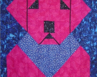 POP ART LAB- Quilt/Wall Hanging - Pattern Only