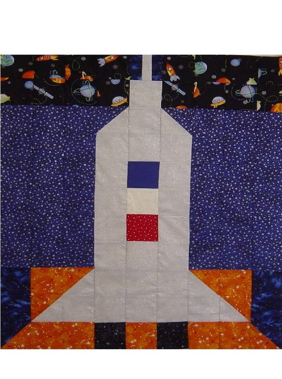 Deep space quilt wall hanging pattern only by fashionistaluxe for Space quilt pattern