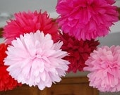 Pretty In Pink...6 Pom Set...Or Pick Your Own Colors