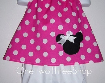 Custom Boutique  Minnie Bloomers And Top Set 12 Months- 6 years