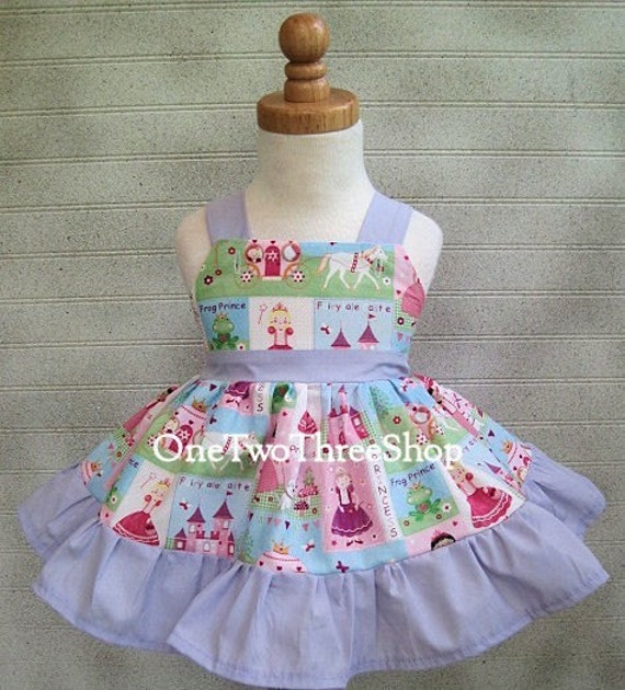 Custom Boutique Birthday Fairy Little Princess Jumper  Dress 12 Months to 6 Years