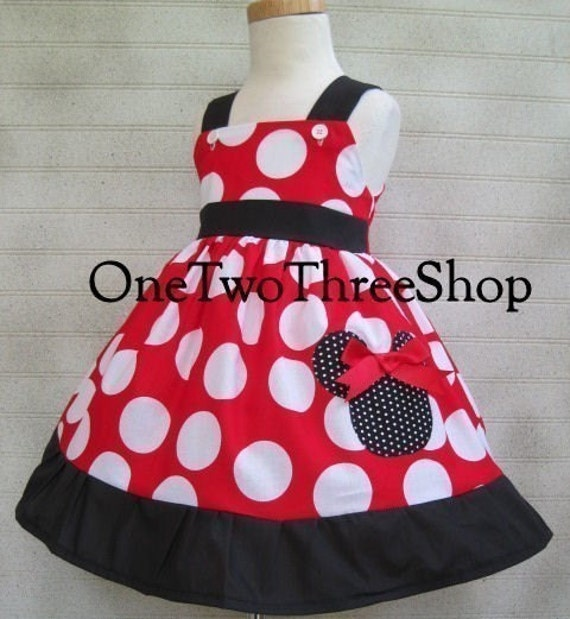 minnie mouse dress jumper style dressup vacation
