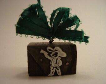 Letterpress Printers Block - Little Mouse Cowboy