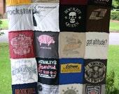 T-Shirt Quilt (Custom)