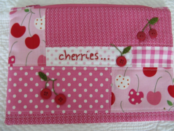 Cherry Zipper Bag