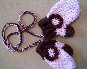 CROCHET PATTERN  - baby Mitten and scarf pattern, crochet gloves,crochet scarf sell what you make, photo props, PDF format