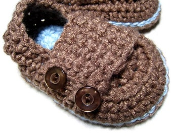 CROCHET PATTERN  - baby shoes, Mary Jane button strap, baby loafers, baby bootie, Pattern PDF, photo prop