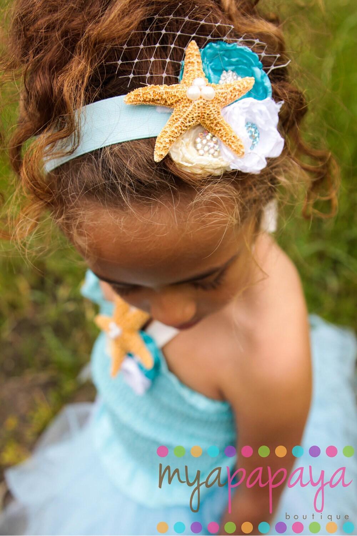 Under the Sea Starfish Headband Fascinator by ...