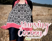 Nursing Cocoon / Cover Up - PDF Sewing Pattern - Instant Digital Download